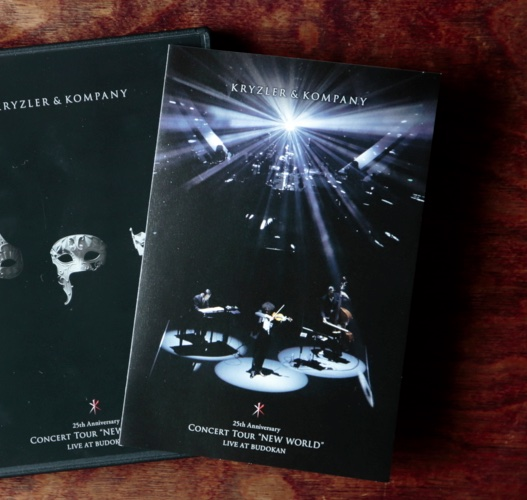 KRYZLER&KOMPANY『NEW WORLD LIVE AT BUDOKAN』/DVD